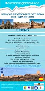 Flyer Turismo RMurcia Español