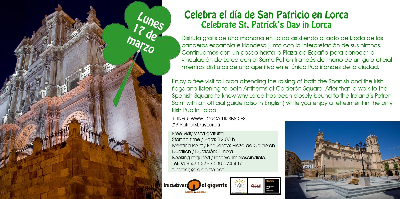 Flyer 17 marzo con Fachada Colegiata 12H