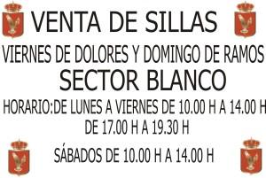 VENTA ENTRADAS VIERNES Y DOMINGO BLANCO